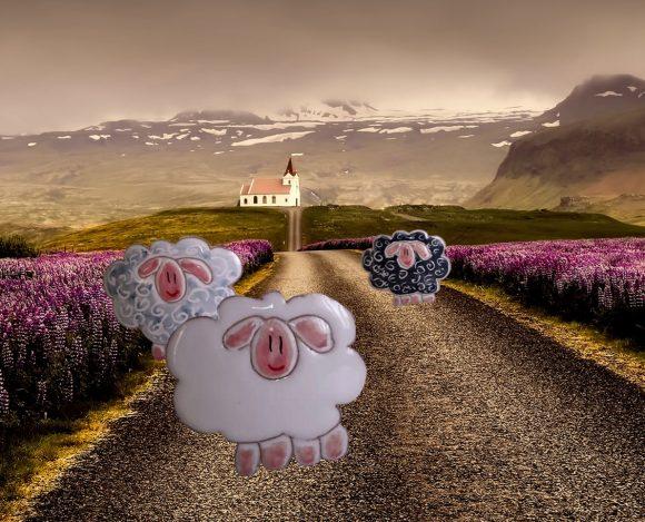 Norður + Cose e Persone = pecore islandesi solidali